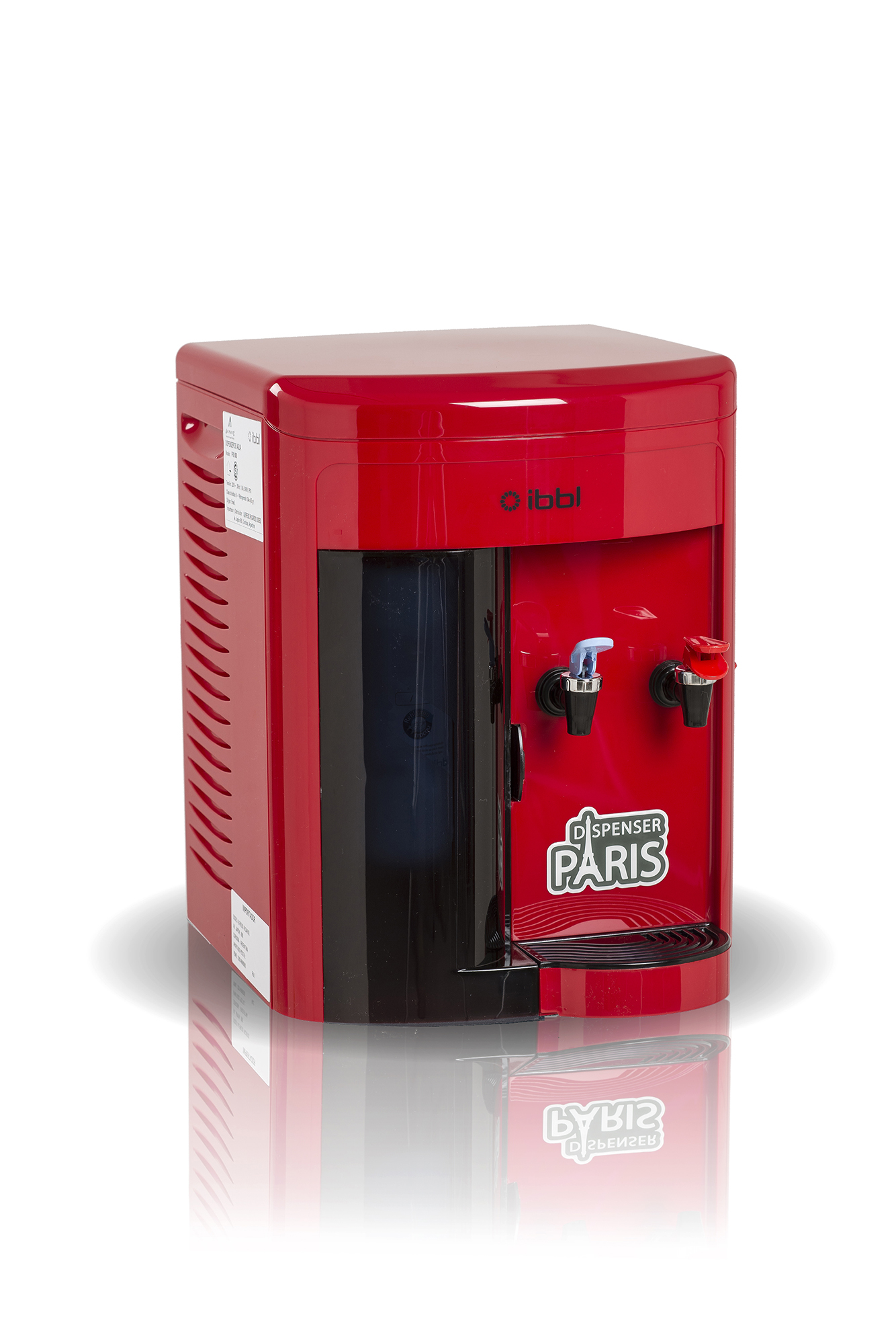 DISPENSER F/C IBBL FRQ 600 ROJO DE MESADA A RED